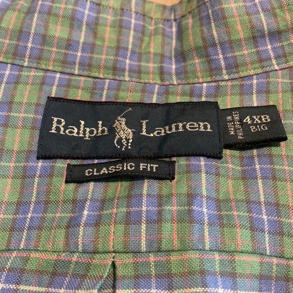 Ralph Lauren button up.
